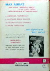 Verso de Zarpa de acero (Vértice - 1966) -7- La Zarpa mortal