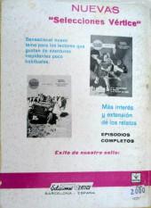 Verso de Zarpa de acero (Vértice - 1966) -8- Contra los hombres de Archela