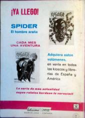 Verso de Zarpa de acero (Vértice - 1966) -9- Territorio prohibido