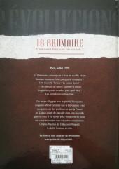 Verso de Révolutions (Quand l'Histoire de France a basculé) -1- 18 Brumaire