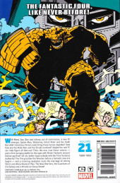 Verso de Fantastic Four Epic Collection (2014) -INT21- The New Fantastic Four