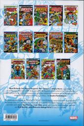 Verso de Fantastic Four (L'intégrale) -14- L'intégrale 1975