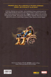 Verso de Thanos : La Trilogie de l'infini (2018) -1- Thanos : les frères de l'infini
