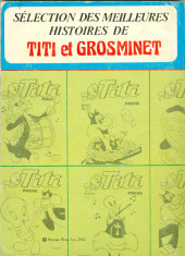 Verso de Titi (Poche) - Le meilleur de Titi et Grosminet