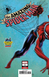 Verso de Amazing Spider-Man (The) (2018) -1J- Back To Basis Part 1