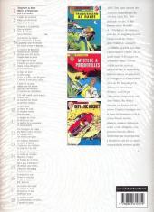 Verso de Ric Hochet (Intégrale) -1- Tome 1