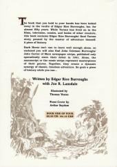 Verso de Tarzan: The Lost Adventure (1995) -1- The Lost Adventure #1