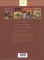 Verso de Wanted (Rocca / Girod) -INT- Intégrale Tomes 1-2-3-4