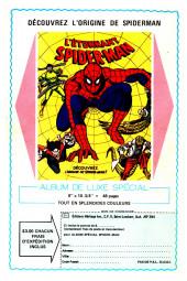 Verso de L'Étonnant Spider-Man (Éditions Héritage) -8990- Le pouvoir d'Electro