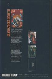 Verso de Deathstroke Rebirth -2- Le Crédo de Slade