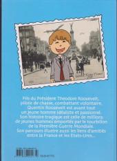 Verso de Quentin Roosevelt - Une étoile américaine dans le ciel de France