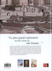 Verso de Une vie avec Alexandra David-Néel -3- Livre 3