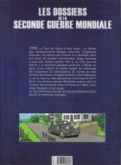 Verso de Les dossiers de la seconde guerre mondiale -1- Tome 1 - 1938