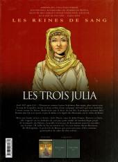 Verso de Les reines de sang - Les trois Julia -1- La Princesse de la poussière