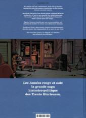 Verso de Les années rouge & noir -3- 1951-1962 Bacchelli