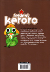 Verso de Sergent Keroro -28- Tome 28