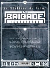 Verso de Le visiteur du Futur - La Brigade temporelle -3- Tome 03