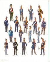 Verso de (AUT) Funcken -U5 1- Uniformes et armes des soldats du XIXe siècle - Tome 1