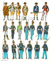 Verso de (AUT) Funcken -U8 1- Uniformes et Armes des Soldats des États-Unis - tome 1