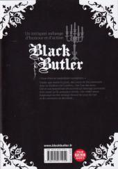 Verso de Black Butler -26- Black Santa