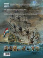 Verso de Les grandes batailles navales -8- Texel
