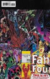 Verso de Fantastic Four (2018) -1N- Fourever Part One