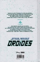 Verso de Star Wars - Droïdes - Intégrale