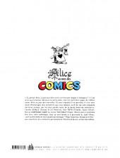 Verso de (DOC) Alice au pays des comics - Alice au pays des comics