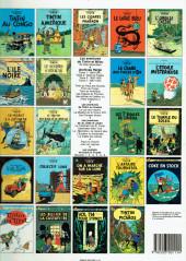 Verso de Tintin (Historique) -12C6bis- Le trésor de Rackham Le Rouge