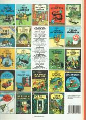 Verso de Tintin (Historique) -14C7- Le temple du soleil