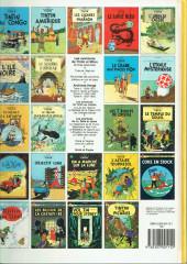 Verso de Tintin (Historique) -16C8- Objectif lune