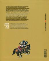 Verso de Histoire dessinée de la France -4- Les Temps barbares - De la chute de Rome à Pépin le Bref