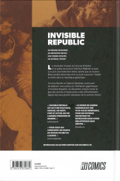 Verso de Invisible Republic -2- Tome 2