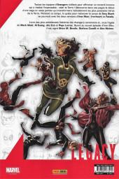 Verso de Marvel Legacy - Avengers (Marvel France - 2018) -3- Jusqu'à la mort
