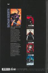 Verso de Batman Rebirth -5- En amour comme à la guerre