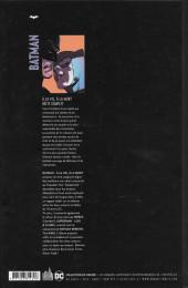 Verso de Batman : À la vie, à la mort