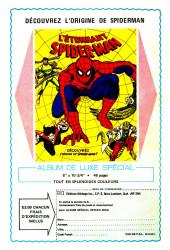 Verso de L'Étonnant Spider-Man (Éditions Héritage) -9394- Recherché pour meurtre : Spider-Man !