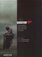 Verso de Warm up -3- In loving memory