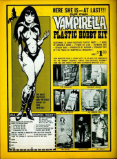 Verso de Vampirella (Warren) -ANN 1972- Great illustrated stories !
