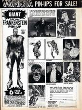 Verso de Vampirella (Warren Publishing - 1969) -3- Issue # 3