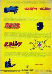 Verso de Kelly ojo magico (Vértice - 1981) -7- ¡Salvage Oeste!
