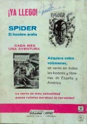 Verso de Kelly ojo magico (Vértice - 1967) -7- La amenaza Inca
