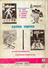 Verso de Kelly ojo magico (Vértice - 1967) -14- Futuro siniestro