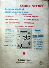 Verso de Kelly ojo magico (Vértice - 1967) -15- En poder de los robots