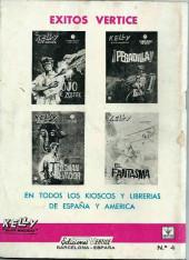 Verso de Kelly ojo magico (Vértice - 1965) -4- ¡Invasión!