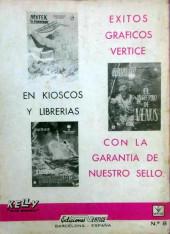 Verso de Kelly ojo magico (Vértice - 1965) -8- El otro ojo de Zoltec