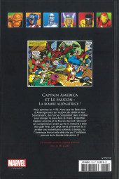Verso de Marvel Comics - La collection (Hachette) -118XXXIV- Captain America et le Faucon - La Bombe Aliénatrice!