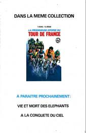 Verso de Les fabuleux exploits d'Eddy Merckx -1- Les Fabuleux Exploits d'Eddy Merckx