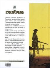 Verso de Les pionniers du Nouveau Monde -1e97a- Le pilori