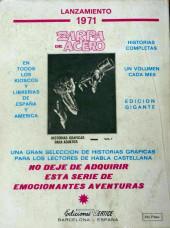 Verso de Mytek el poderoso (Vértice - 1971) -1- (sans titre)